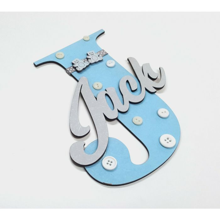 *ANY NAME & ANY COLOUR* Wooden letters with personalised name bedroom door #60#