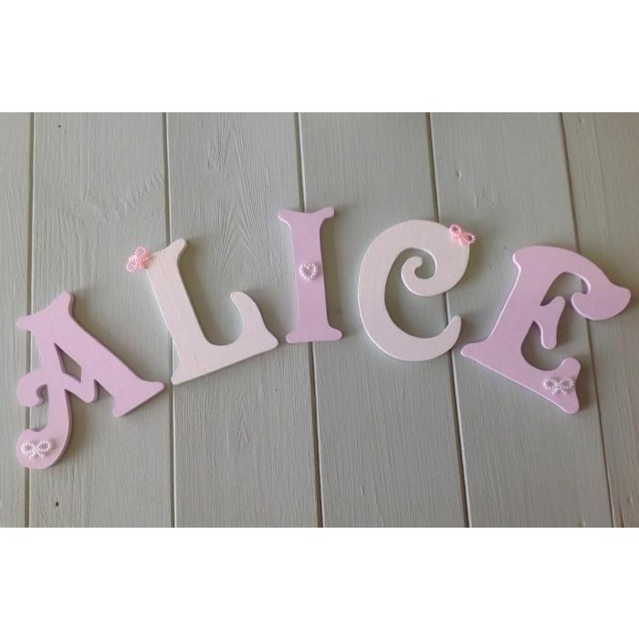 *ANY NAME & ANY COLOUR* Personalised Painted Wooden Bedroom Door Decoration #41#