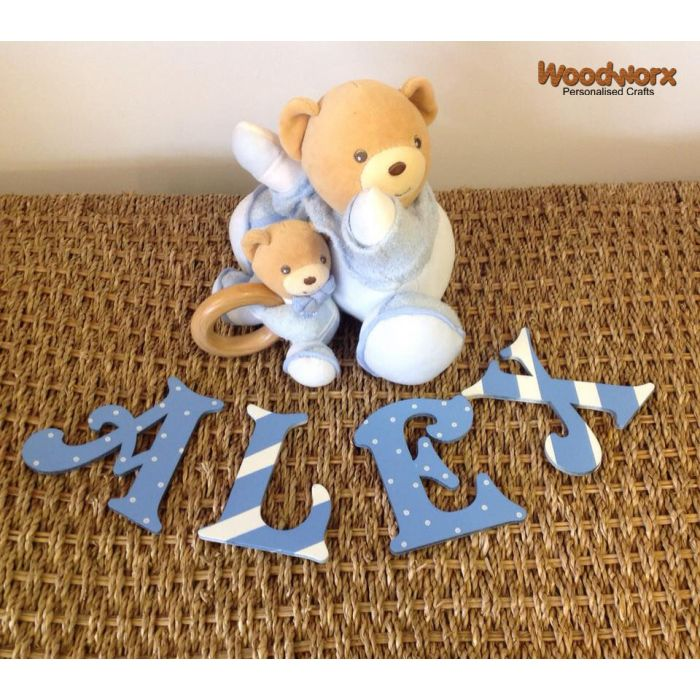 *ANY NAME & ANY COLOUR* Personalised Painted Wooden Bedroom Door Decoration #45#