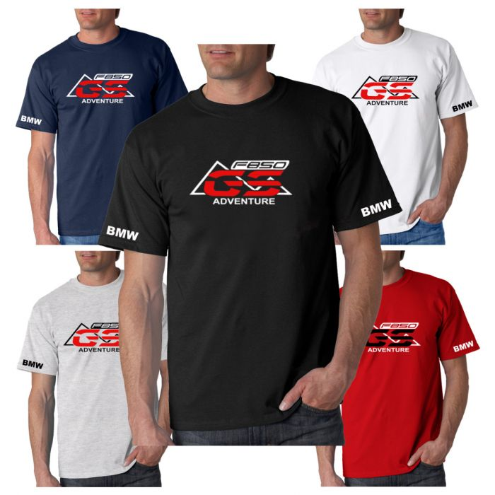 New BMW F850 GS Inspired T-Shirt Sizes Small to 3XL Choice Of 5 Colours