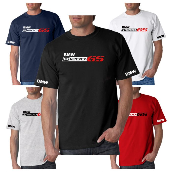 New BMW R1200 GS Inspired T-Shirt Sizes Small to 3XL Choice Of 5 Colours