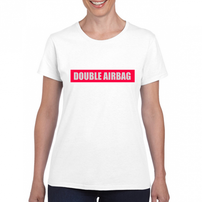 Funny Novelty & Joke Slogan T-shirts - Air Bags - Unisex 205g Qaulity T's