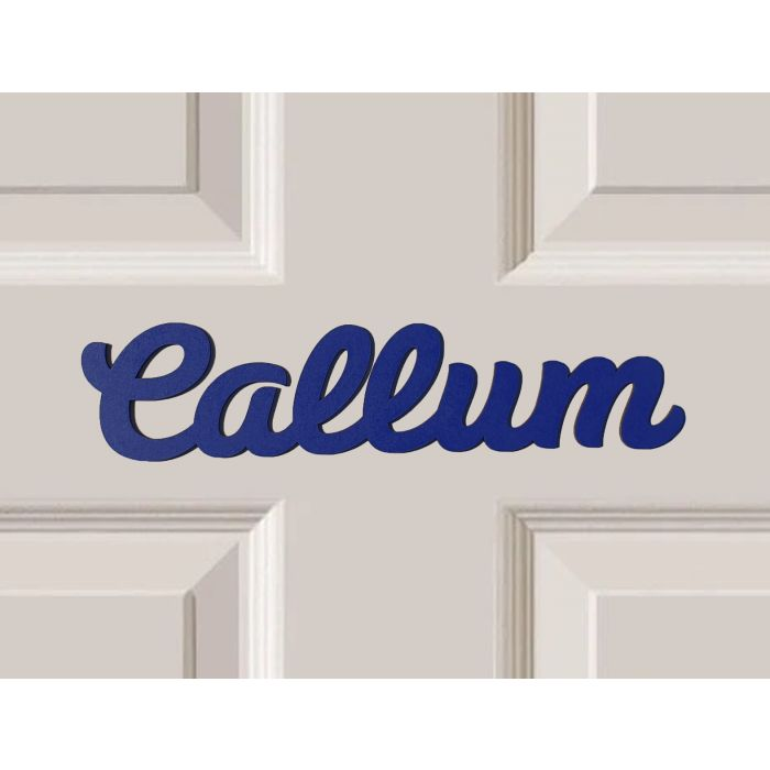 *ANY NAME & ANY COLOUR* Personalised Wooden Name Plaques Bedroom Door Sign #54#