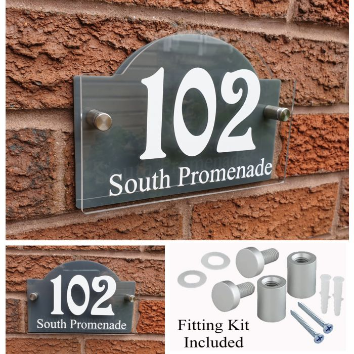 House Number House Plaque House Sign Door Numbers Address plate HS5