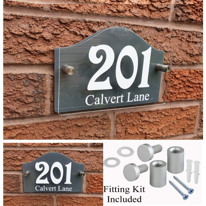 House Number House Plaque House Sign Door Numbers Address plate HS7